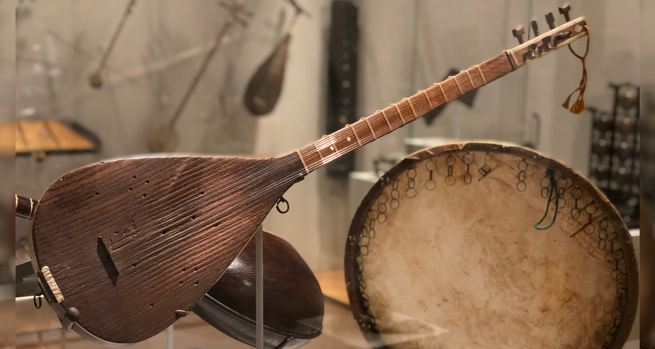 Showcase of Ostad Elahi's instruments at the MET