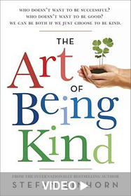 Cover of Stefan Einhorn's book: The Art of Being Kind