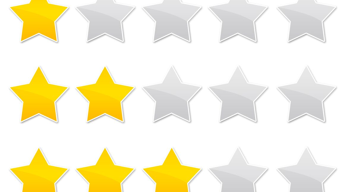evaluation - vote - review - rate - stars